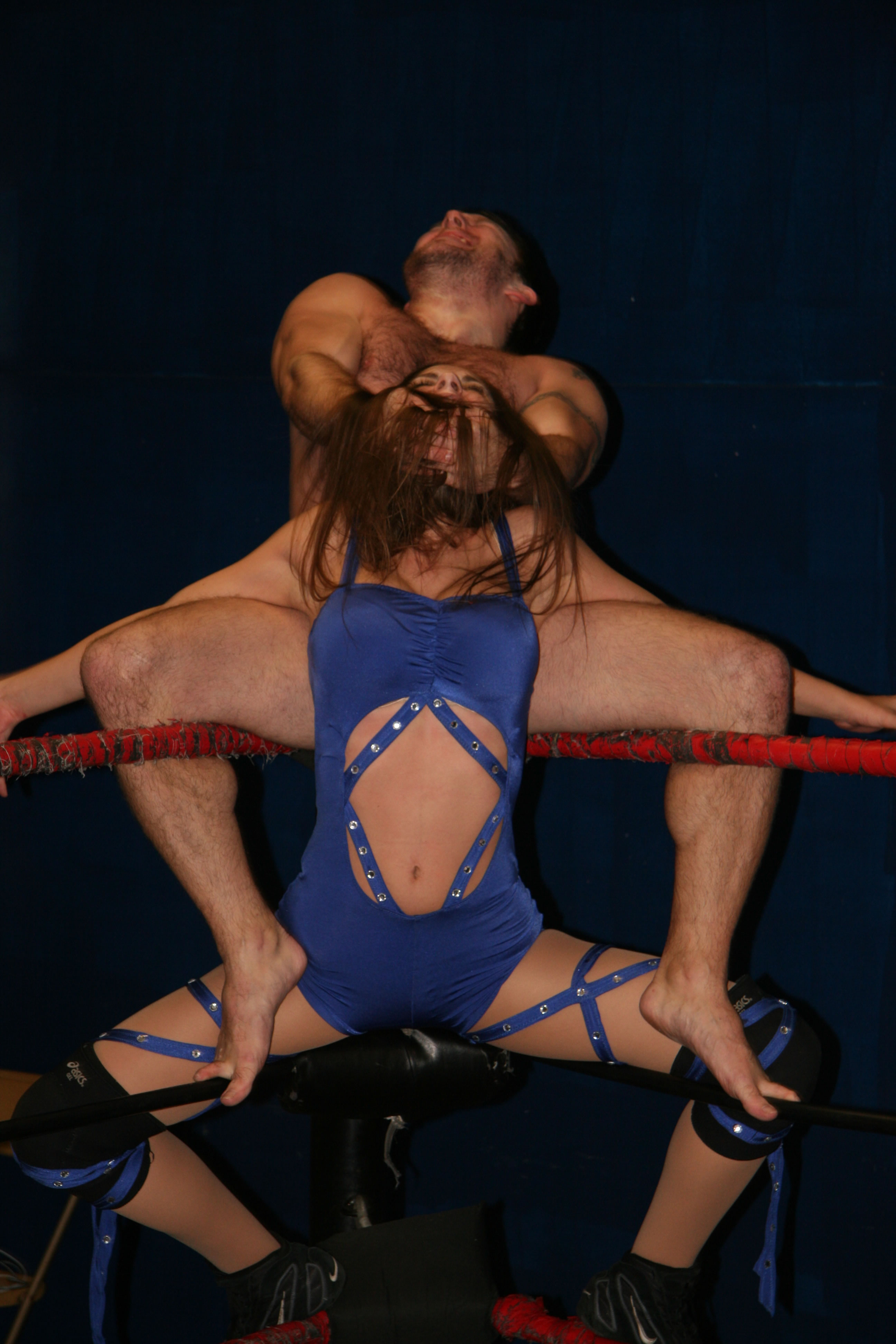 Mixed Oil Wrestling Sex